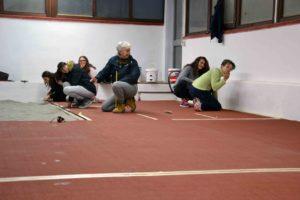 Consiglieri, tecnici e atleti Acsi lavorano agli ultimi dettagli allo Scarpellini